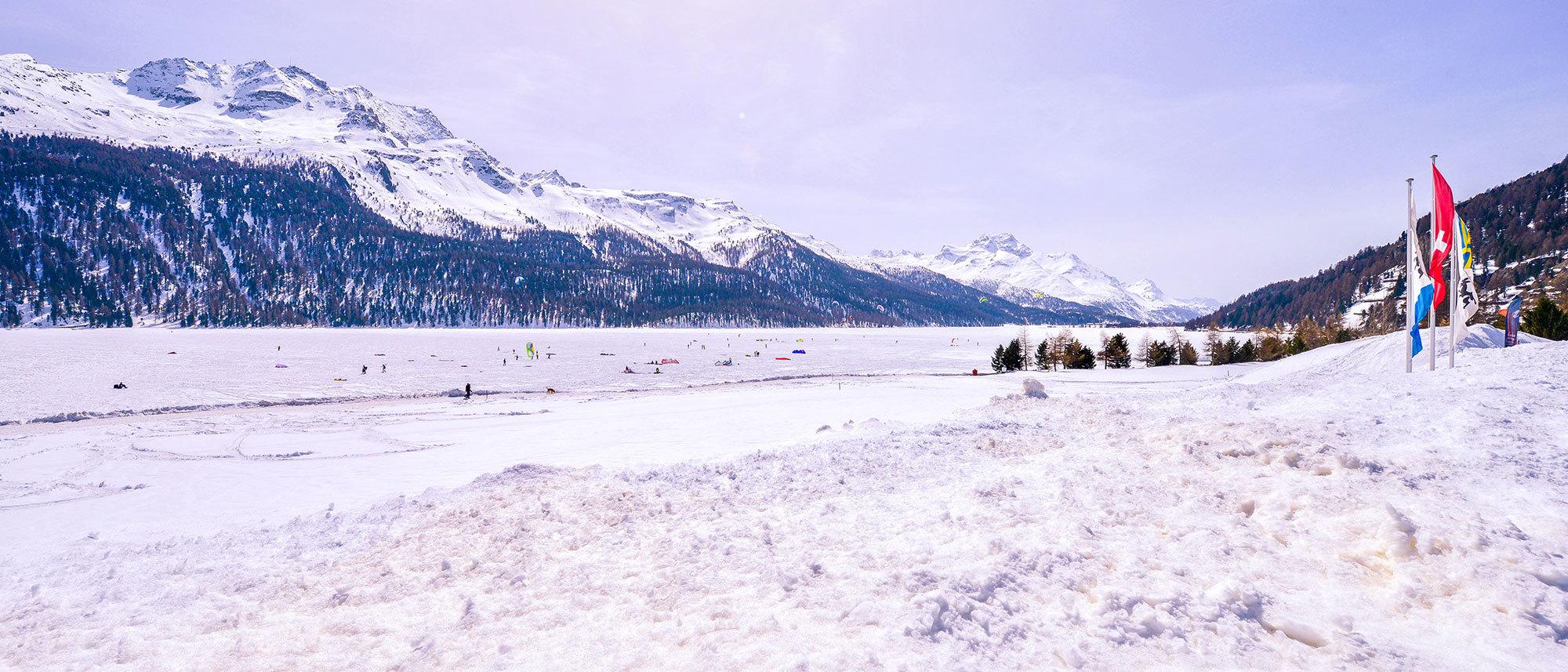 Silvaplana Kitespot Winter