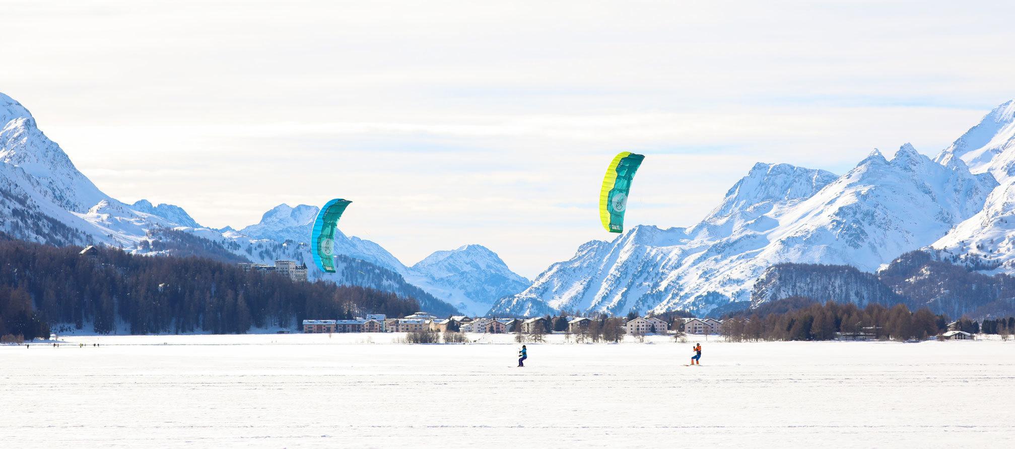Snowkite Panorama